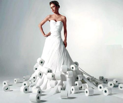 Сумасшедшие свадебные платья ниже
