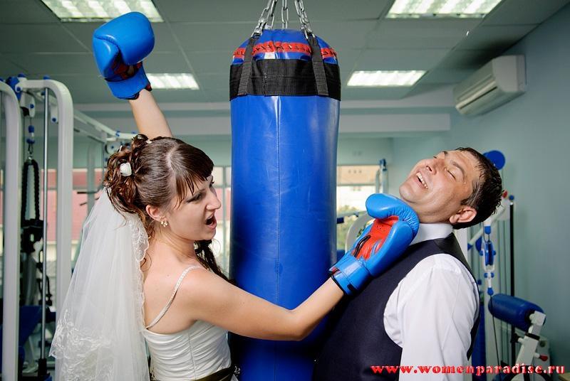 прикольная свадьба бокс