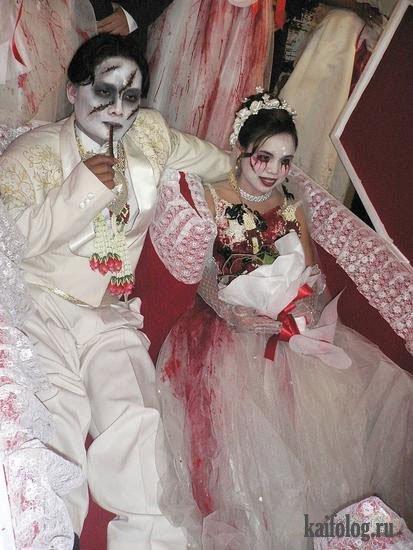 прикольная свадьба китайцев