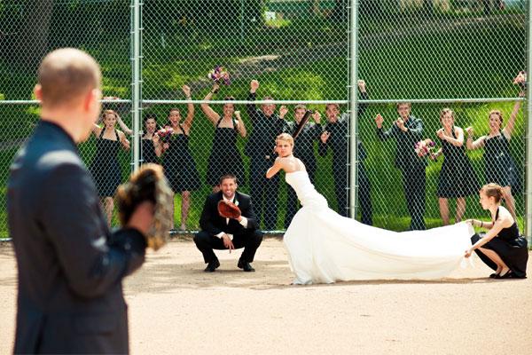 прикольная свадьба баскетбол