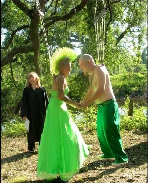 прикольная свадьба экстрим