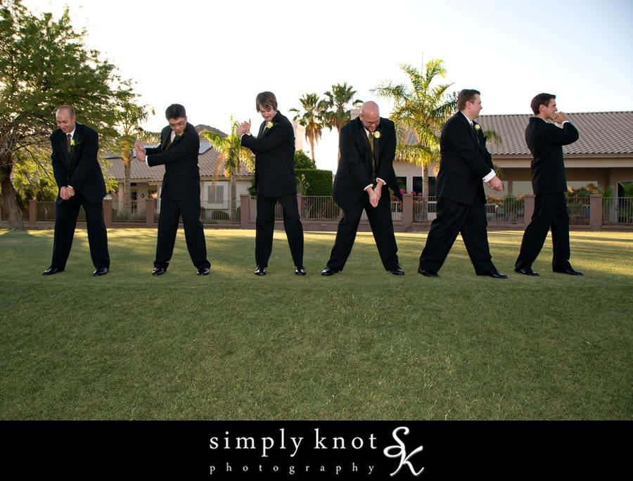 фото с друзьями жениха весело