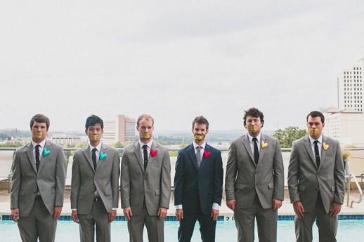 необычное фото с друзьями жениха прикольно