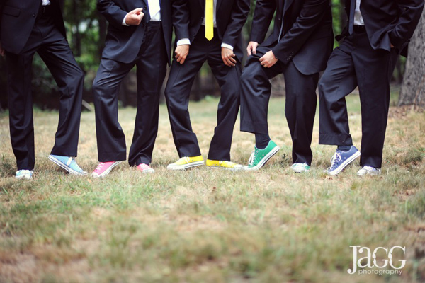 фото с друзьями жениха носочки