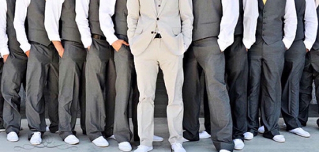 Фото с друзьями жениха