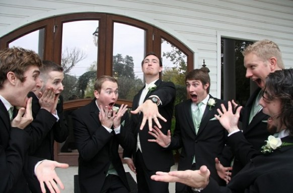 фото с друзьями жениха оригинально