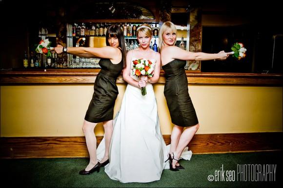 идеи фото с двумя подружками невесты