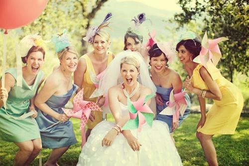 идеи веселой фото с подружками невесты