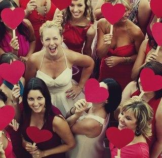 идеи фото с подружками невесты сверху