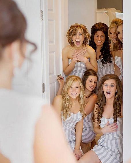 идеи фото с подружками невесты: первый взгляд