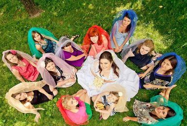 идеи фото с подружками невесты