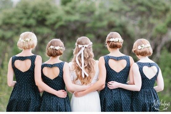 фотосессия с подругами невесты