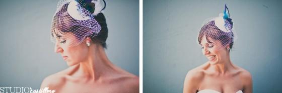 свадьба Павлины: шляпка