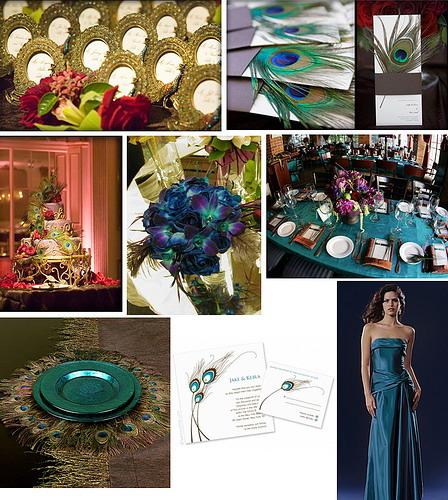 свадьба Павлины декор и украшения