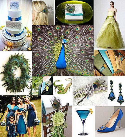 свадьба Павлины: приглашения и декор