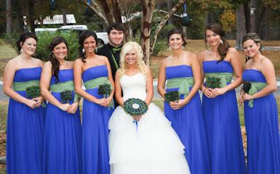 свадьба Павлины: невеста и подружки