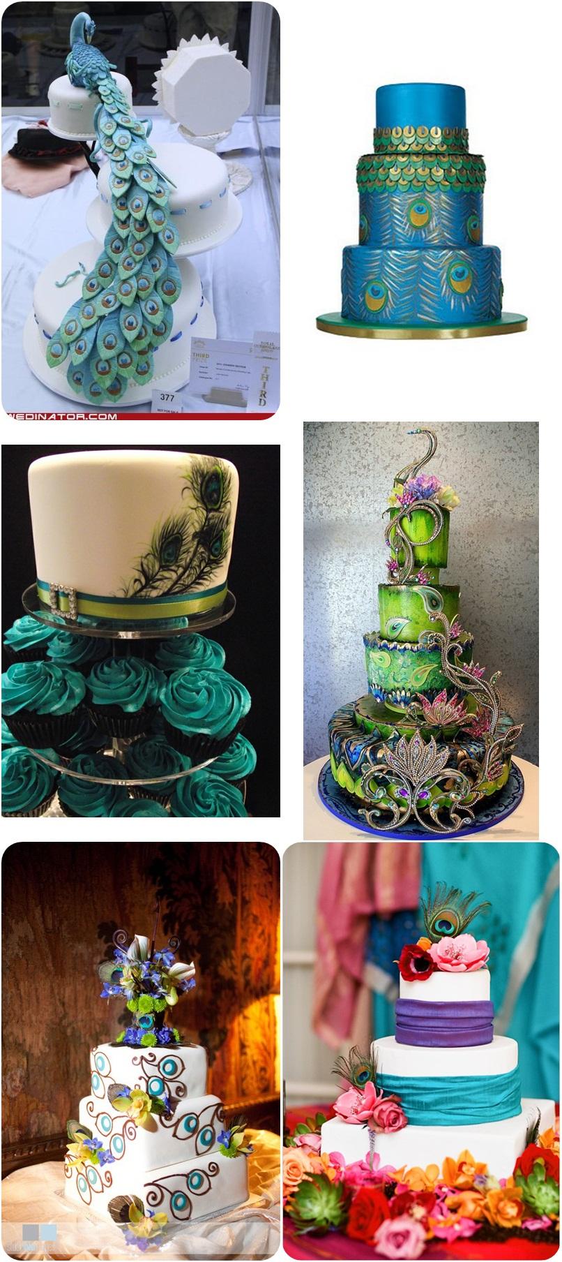 свадьба Павлины: неповторимый свадебный торт