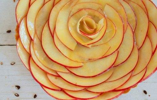 свадьба яблоки украшение стола