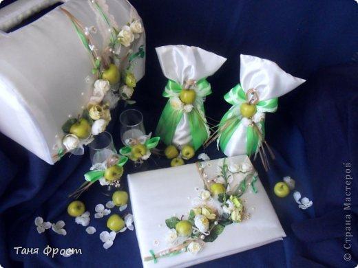 акссесуары свадьба в стиле яблоки