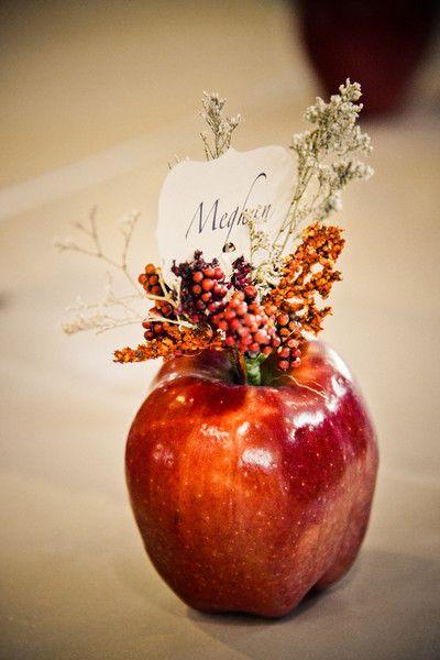 свадьба яблоки: рассадка гостей
