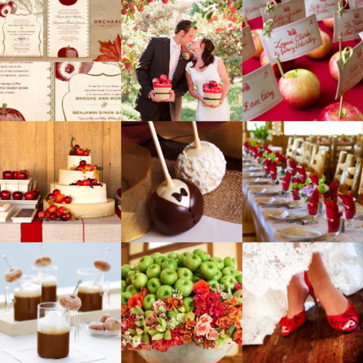 свадьба яблоки: подборка
