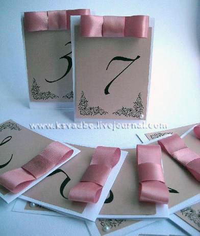 Номер стола на свадьбу на заказ ручной работы
