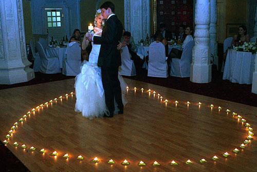 effecti dla svadebnogo tancha svechi