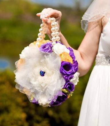 необычный свадебный букет самый