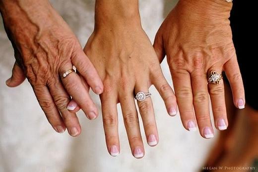 идея фотографии с мамой на свадьбу