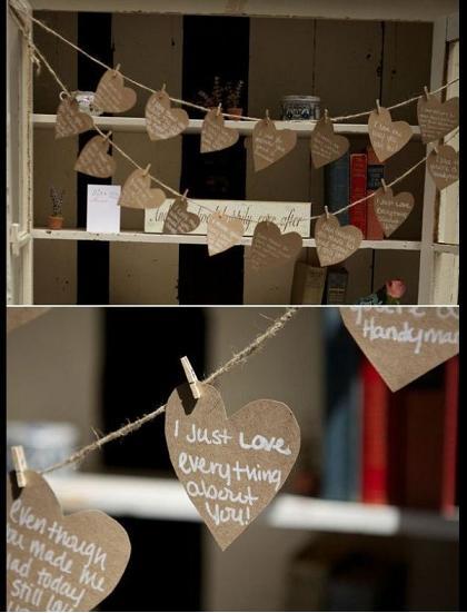 романтичный сюрприз  жениху от невесты