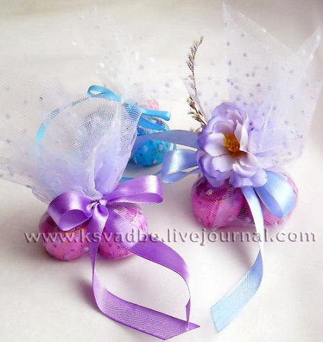 Мешочек с конфетами своими руками