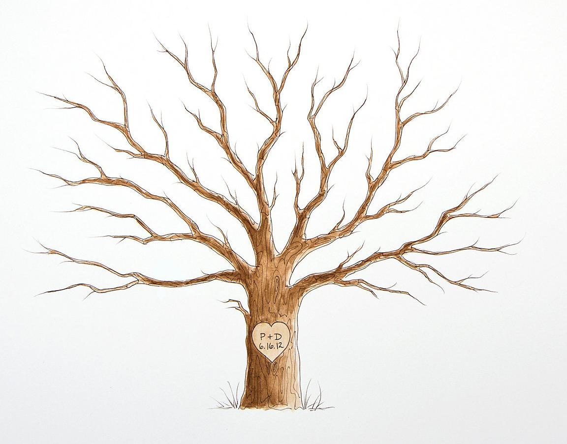 Дерево пожеланий шаблон скачать в хорошем качестве
