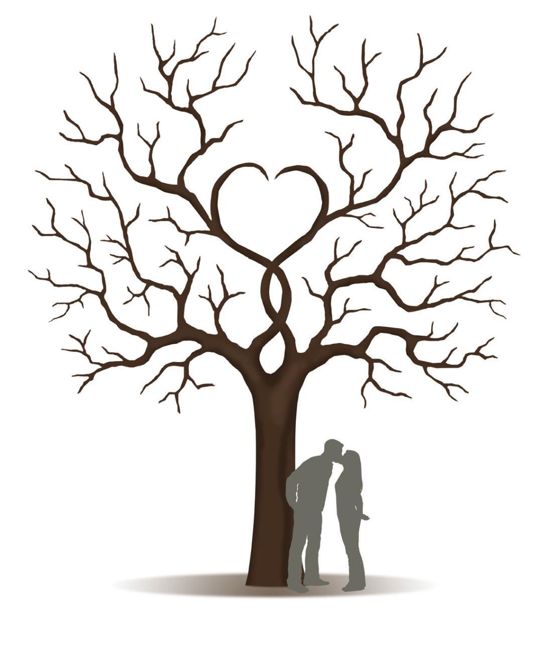 свадебное дерево: форма