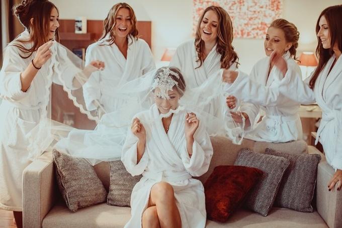 фото сбор невесты