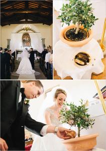 сажать дерево на свадьбе