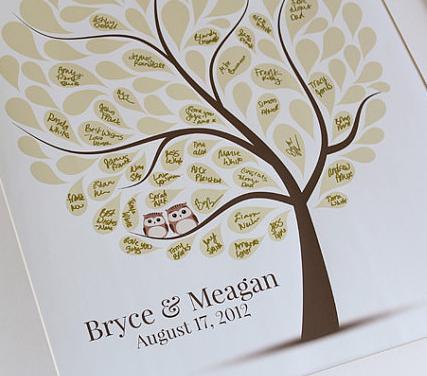 Свадьба в стиле совы