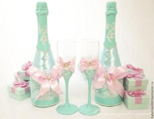 свадебное шампанское фото