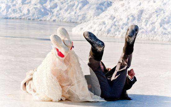 свадьба зимой идея фото, идея фотосессии свадьба зимой