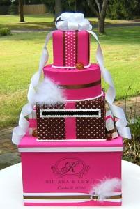 торт для денег, коробка для денег в форме торта